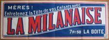 1936 French 'La Milanaise' Advertising Poster for Baby Shampoo