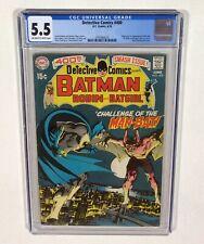 Detective ComIcs #400 CGC 5.5 KEY! (1st Man-Bat, Neal Adams cover/art!) 1970 DC