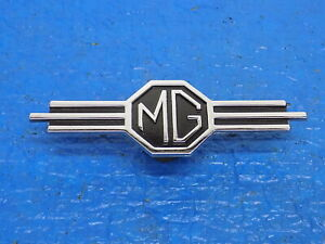 Apr MG OEM Emblem 130254 MGB Radio Delete Dash Panel Emblem Part