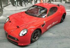 Custom Painted Body Alfa Romeo 8C Comp for 1/10 RC Drift Cars Touring HPI 200mm