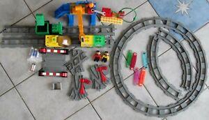 MEGA Lego DUPLO INTELLI EISENBAHN ZUG SET Lok, Waggons (1 Intelli) 4 m BAHNLÄNGE