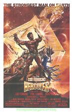 Hercules Affiche Film Plié Original 1983 Drew Struzan Visuel Lou Ferrigno