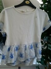 GAP KIDS FRILL TOP GIRLS AGE 8-9 YEARS BNWT FOR £16.99