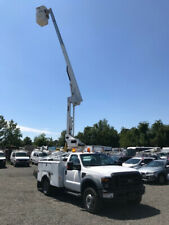 2008 Ford F-450 Xl Used Utility Boom Truck 42' Versalift Bucket V10 Gas Drw Lift