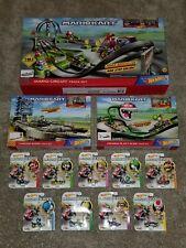 Mario Kart Hot Wheels Circuit Thwomp Piranha Tracks + 9 Cars BNIB Hard to Find!!