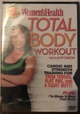 Women's Health Total Body Workout with Amy Dixon (Dvd,2007) Cardio & Strength
