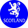 4x4 Spare Wheel Cover 4 x 4 Camper Graphic Sticker Scottish Scotland Forever 136