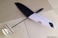 Feather² Micro RC Glider UltraLight DLG Kit Radio Control Plane Balsa Carbon