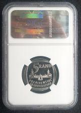 """1994 Mandela INAUGURAZIONE 5 Rand R5-PF69 Cameo """"Open Door"""" - RARE!"""