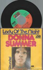"""7""""  Donna Summer – Lady Of The Night"""