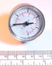 Pressure gauge for airbrush etc.. 0-100 psi , 0-7 bar