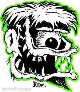 Ace Fink Sticker Decal by Artist Kruse RK27
