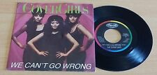 """THE COVER GIRLS - WE CAN'T GO WRONG - 45 GIRI 7"""" - ITALY PRESS"""