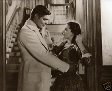 Gone With The Wind Vivian Leigh Slaps Clark Gable Classic Photo Rhett & Scarlet
