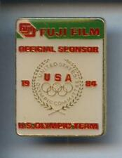RARE PINS PIN'S .. OLYMPIQUE OLYMPIC  PRESSE PHOTO FUJI 1984 ¤3R