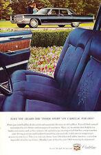 1965 Cadillac Fleetwood sedan - 8x10 Classic Vintage Car Advertisement Ad J45