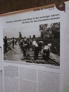 Chronik der Eisenbahn 3B: 1960 Schienen Schwellen Gleise 60er Jahre