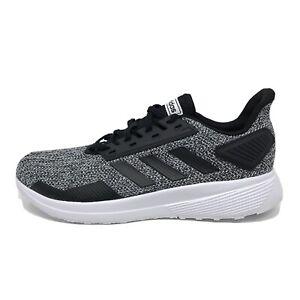 New Adidas Duramo 9 Mens Running Shoe Sneaker Core Black White BB6917 Size 11