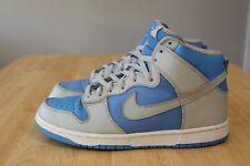 Nike Dunk High UNC Neutral Grey University Blue 304717 003 SZ 10 SB 2003 Jordan