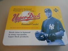 2005 Origins Baseball Empty Collector Tin Derek Jeter