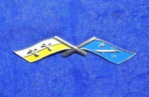 *Neu* Emblem Opel Racing Flaggen 6692384 Olympia Rekord P2 Kapitän 60er Jahre