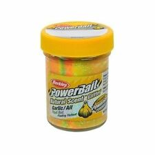 Berkley Natural Scent Trout Bait Glitter Garlic Rainbow