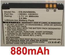 Batterie 880mAh type HB5B2 HB5B2H Pour Huawei U7300