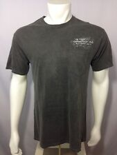 Cigar Connoisseur Club T Shirt Gray M Medium Mens Back Graphics Front Pocket