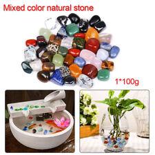 100g Mixed Natural Collectable Crystals Quartz Tumbled Stones Gemstone Healing