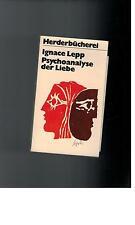 Ignace Lepp - Psychoanalyse der Liebe - 1972