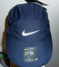 New Nike Aerobill Tailwind Elite Running Cap Hat DRI-FIT Colour  Navy/Grey/Tick