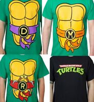 TMNT - Teenage Mutant Ninja Turtles Costume & Logo Shirt - Officially Licensed!!