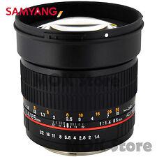 Samyang 85mm F1.4 Aspherical IF UMC ED Lens For Canon