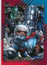 #43 ROCKET RACCOON 2015 Fleer Retro Marvel GUARDIANS OF THE GALAXY