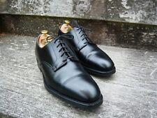 CROCKETT & JONES HAND GRADE DERBY ( PEAL ) – BLACK  – UK 9 – SUPERB CONDITION