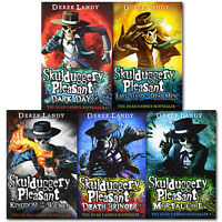 Skulduggery Pleasant Series 4 to 8 Derek Landy 5 Books Collection Set Brand New