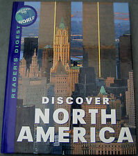 DISCOVER NORTH AMERICA-(Discover the World-Reader's Digest)-HARDBACK BOOK-2000