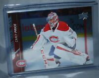 2015-16 Upper Deck Silver Foil Board #356 Carey Price Montreal Canadiens