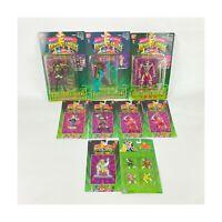 Lot of 9 MMPR Power Rangers Evil Space Aliens Knasty Knight Snizard Lord Zedd
