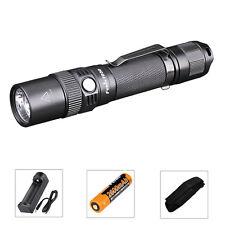 Fenix FD30 Zoomable Tactical Linterna 900LM CREE XP-L HI LED + 18650 Batería