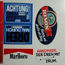 Aufkleber/Sticker: Tabak Tobacco Zigaretten Konvolut - Drum Marlboro (10101664)
