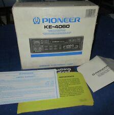 Vintage Pioneer KE-4060 Cassette Super Tuner III Car Stereo