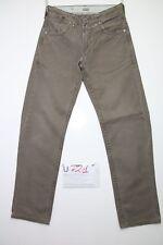levis boyfriends Marrone  (Cod.U721) Tg.43 W29 L34 jeans usato uomo