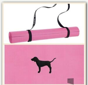 Victoria's Secret PINK Yoga Mat Pink Dog Nwt