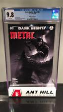 Dark Nights Metal #5- Mattina Sketch Variant- CGC 9.8- White Pages!!