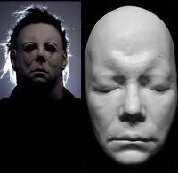 "William Shatner Life Mask Cast "" Captain Kirk"" Used to make Michael Myers Mask!!"