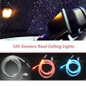 12V 3W Audio Fiber Optic Star Light PMMA For Car Headliner Roof Ceiling Lights