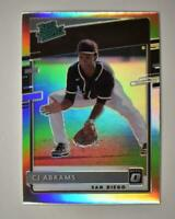 2020 Donruss Optic Rated Prospects Holo #RP-17 CJ Abrams - San Diego Padres