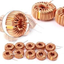 10pcs New Toroid Cores Common Mode Inductors Wire Wind Wound Coil 100uh 6a 13mm