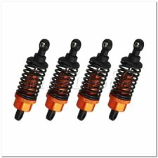 4x Orange Aluminum RC1:10 Shock Absorber for HSP On-road Racing Car 102004